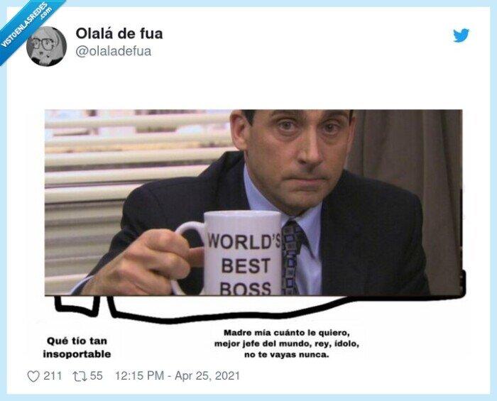jefe,michael scott,the office