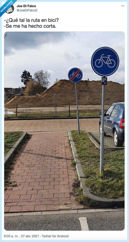 bici,corta,ruta