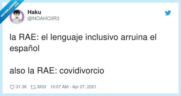 arruinar,covidivorcio,español,lenguaje inclusivo