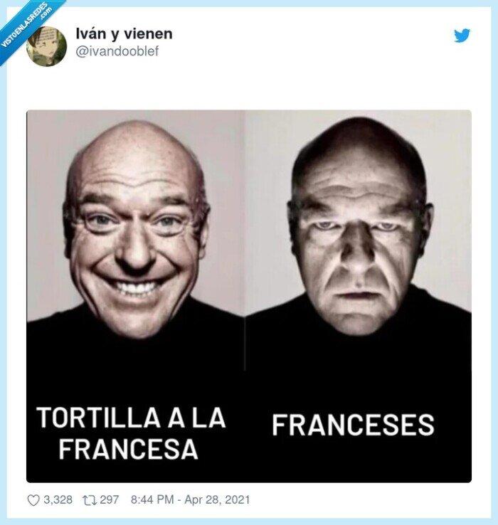 francesa,franceses,tortilla