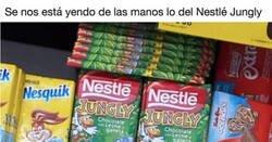 Enlace a La locura del Nestlé Jungly es tal que estas medidas que están poniendo en los supermercados son de locos, por @RiPoXXIII