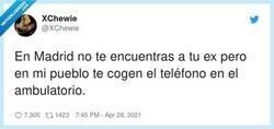Enlace a Pueblo 1 - Madrid 0, por @XChewie
