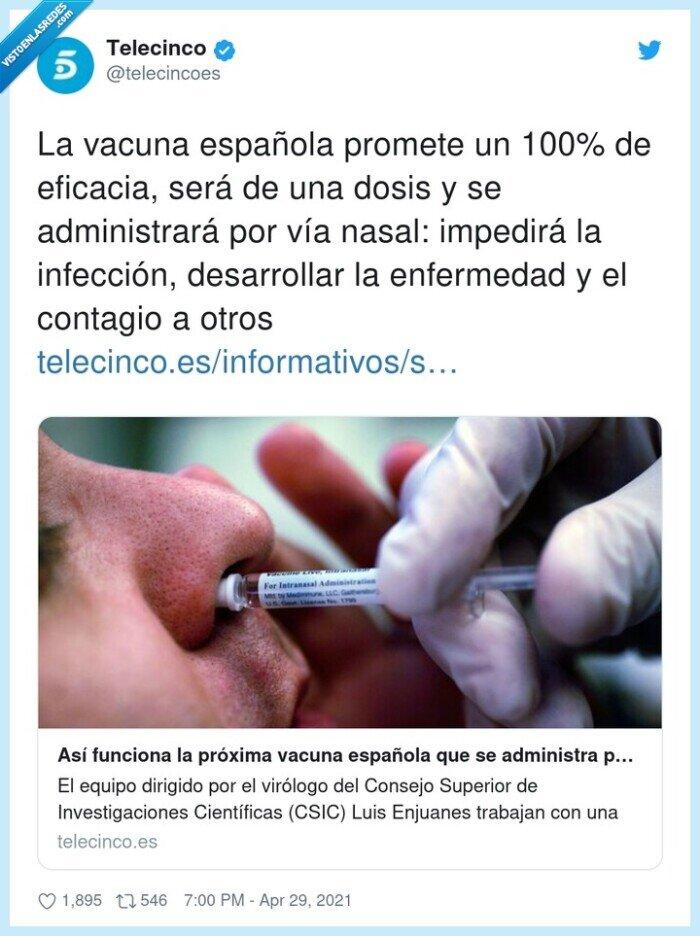 administrar,desarrollar,enfermedad,infección,nasal,vacuna
