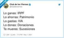 Enlace a Y todo para pagarles mansiones, sueldos y pensiones vitalicias a políticos que no aportan nada, por @clubdeviernes