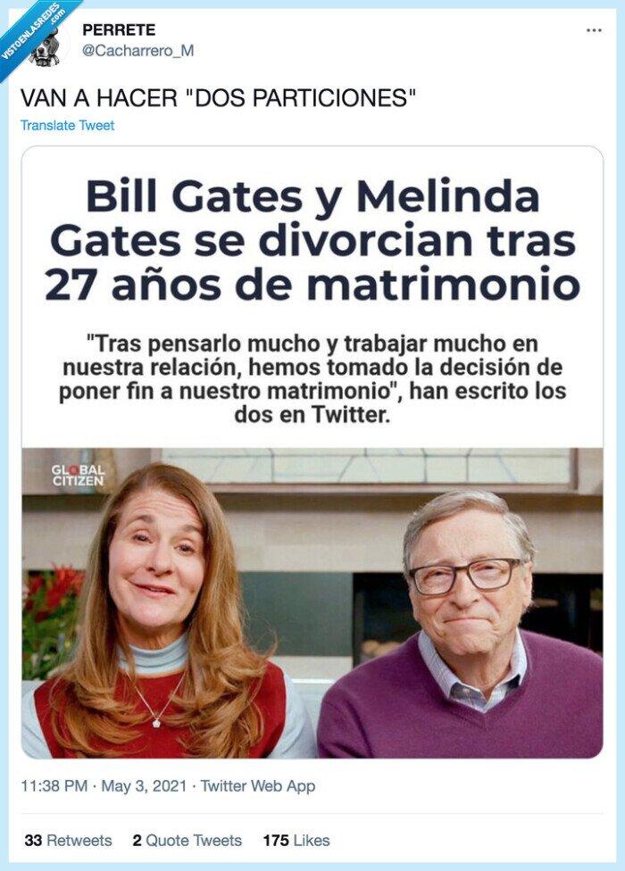 bill gates,divorcio,particiones