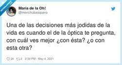 Enlace a Conozco a uno que se agobió tanto que salió corriendo, con las gafas puestas, por @menchubasquero