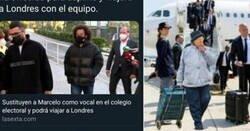 Enlace a Una liada de laSexta hace que media España se ría de Marcelo y de la señora que lo sustituye en la mesa electoral