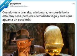 Enlace a Indiana Jones y el envoltorio perdido por @supermanumolina