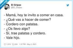 Enlace a Y un tupper también por si queda algo, por @El_Gripao
