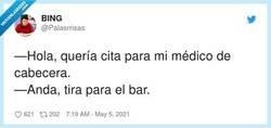 Enlace a ¿Médico? ¿Qué médico? ¿Es una broma lo del médico?, por @Palasrrisas