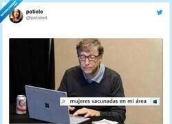 Enlace a Así se las tiene que ver ahora Bill Gates, por @patiele4