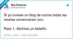 Enlace a Cómo termine la receta es lo de menos, por @MuyEmpanao