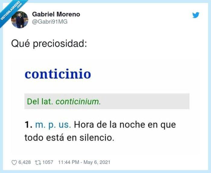 conticinio,noche,silencio