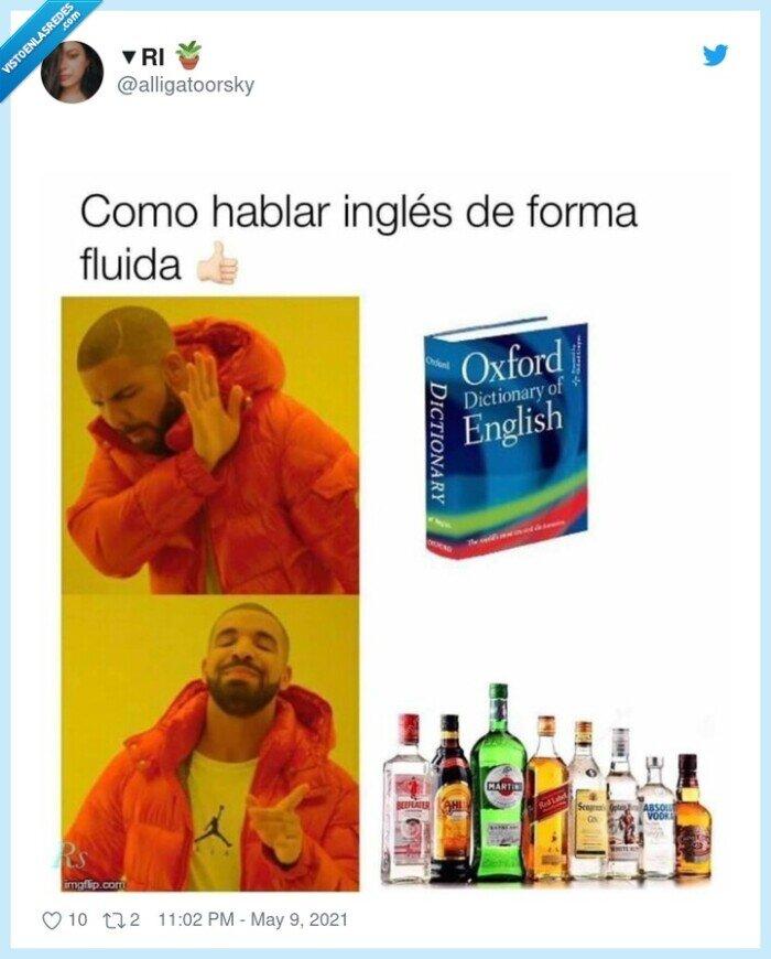 alcohol,borracho,inglés,sale solo