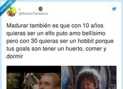 Enlace a Yo siempre he sido hobbit, por @AvaronTanatarca