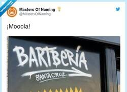 Enlace a La bartbería, por @MastersOfNaming