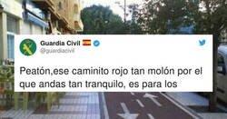 Enlace a La Guardia Civil lanza este mensaje sobre el uso del carril bici y reciben una somanta de zascas