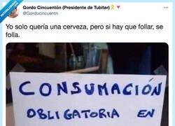 Enlace a Consumación obligatoria, por @Gordocincuentn