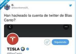 Enlace a Hackean la cuenta de Twitter de Blas Cantó a pocos días de Eurovisión 2021, por @daavidramos25_