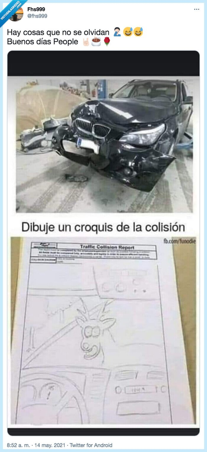 accidente,ciervo,croquis