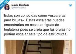 Enlace a Eso es solución para que la escalera ocupe menos espacio, por @insubarataria