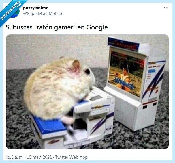 gamer,google,ratón