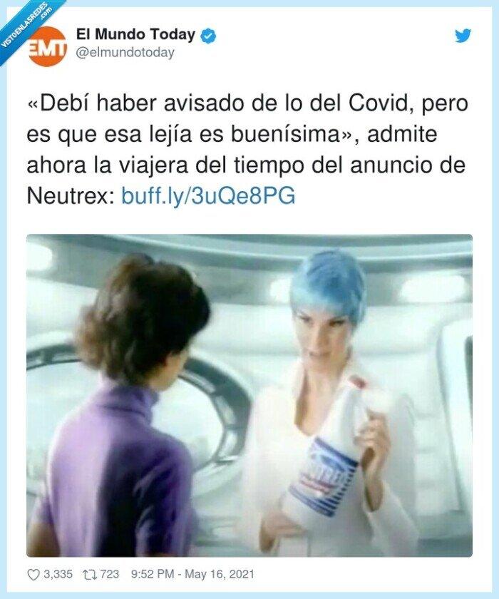 anuncio,avisar,coronavirus,neutrex,viajera