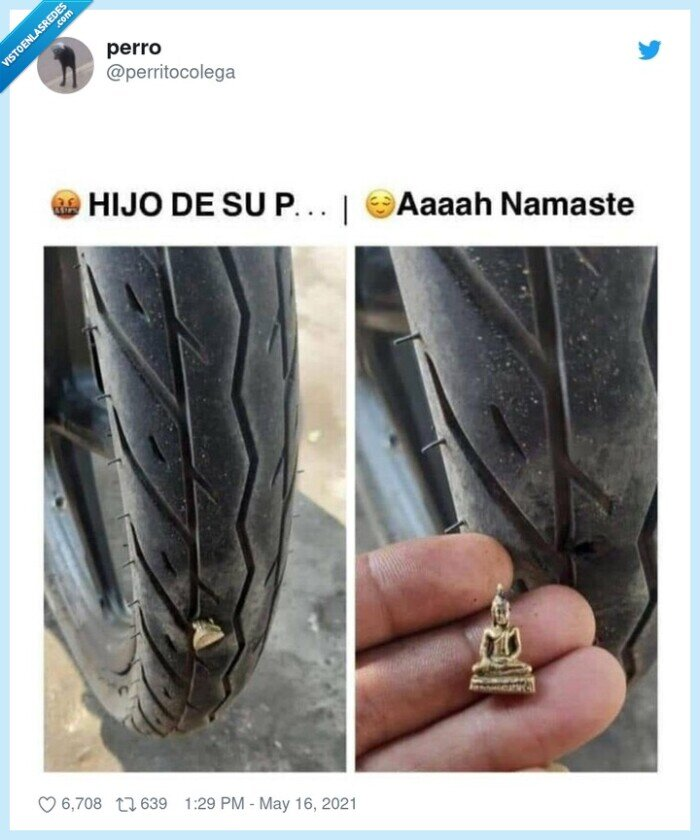 budda,clave,neumático,pinchazo