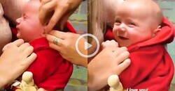Enlace a Lo que pasa cuando a un bebé con sordera le ponen un aparato y por fin escucha a su madre por primera vez, por @blablablito2