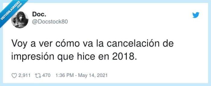 2018,cancelación,impresión,impresora