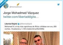 Enlace a Jorge Javier tiene su versión en marruecos, por @memes4love1