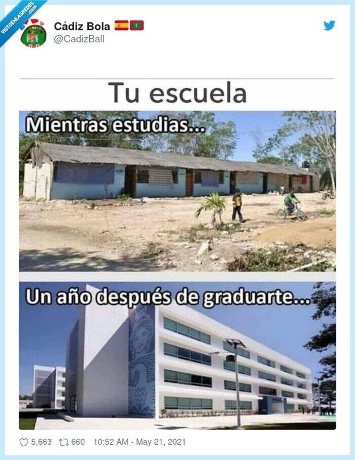cambiar,colegio,remodelación