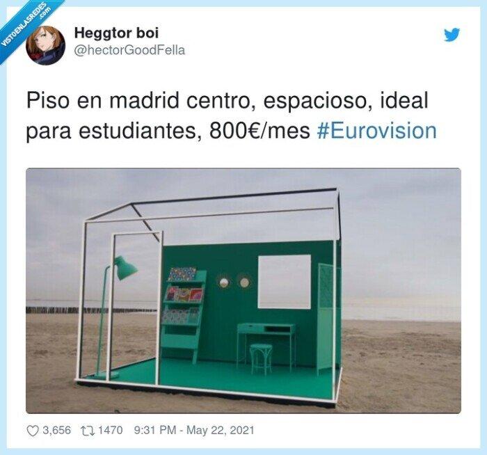 #eurovision,800€/mes,centro,espacioso,estudiantes,madrid