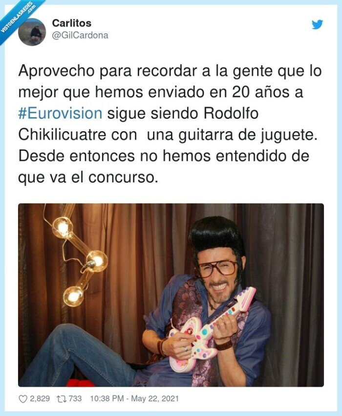 #eurovision,chikilicuatre,grande,guitarra,leyenda