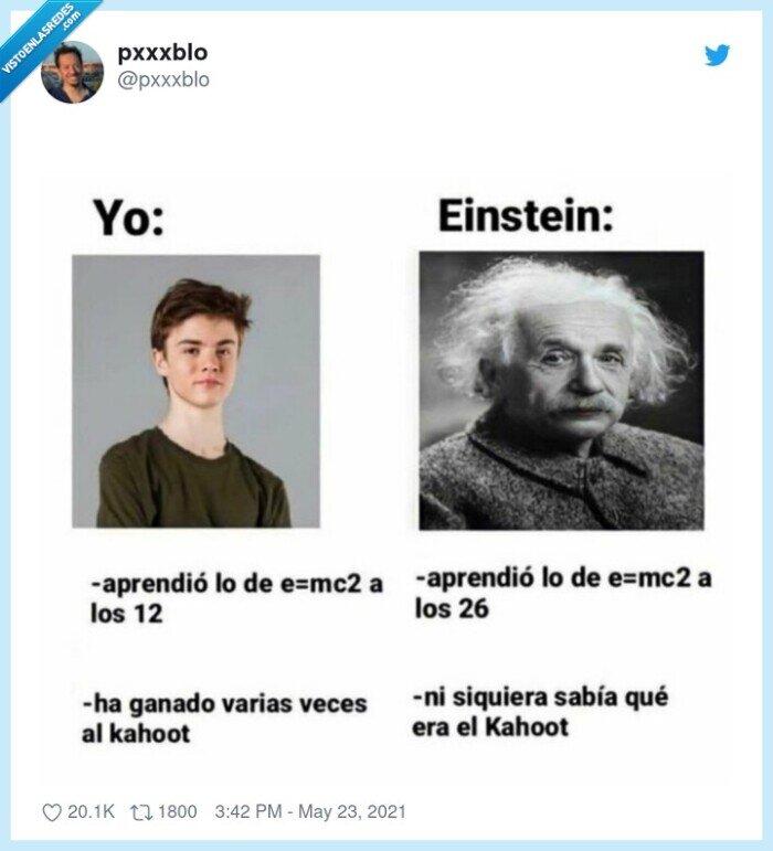 einstein,kahoot,mc2,yo