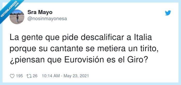 cantante,descalificar,eurovisión,tirito