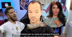 Enlace a Ángel Martín se refiere así a Sergio Ramos y convierte a Pilar Rubio en trending topic, por una vez los papeles cambian