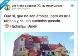 Enlace a Me vino a la mente cierto edificio de Ibáñez, por @arboles_magicos