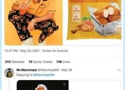Enlace a Cuando creías que la locura había acabado, va y aparece @WanchopeMr con un hilo de Bad Bunny como croquetas del Mercadona