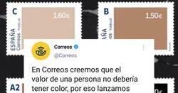 Enlace a Correos lanza una campaña para concienciar contra el racismo y mete la pata hasta el fondo