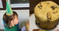 Enlace a Esta niña pide una tarta con una escena trágica para su cumpleaños para no tener que compartirla, por @caseyfeigh