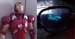 Enlace a Este chico fabrica una armadura de Iron Man a tamaño real con interfaz virtual en el casco, es tremenda
