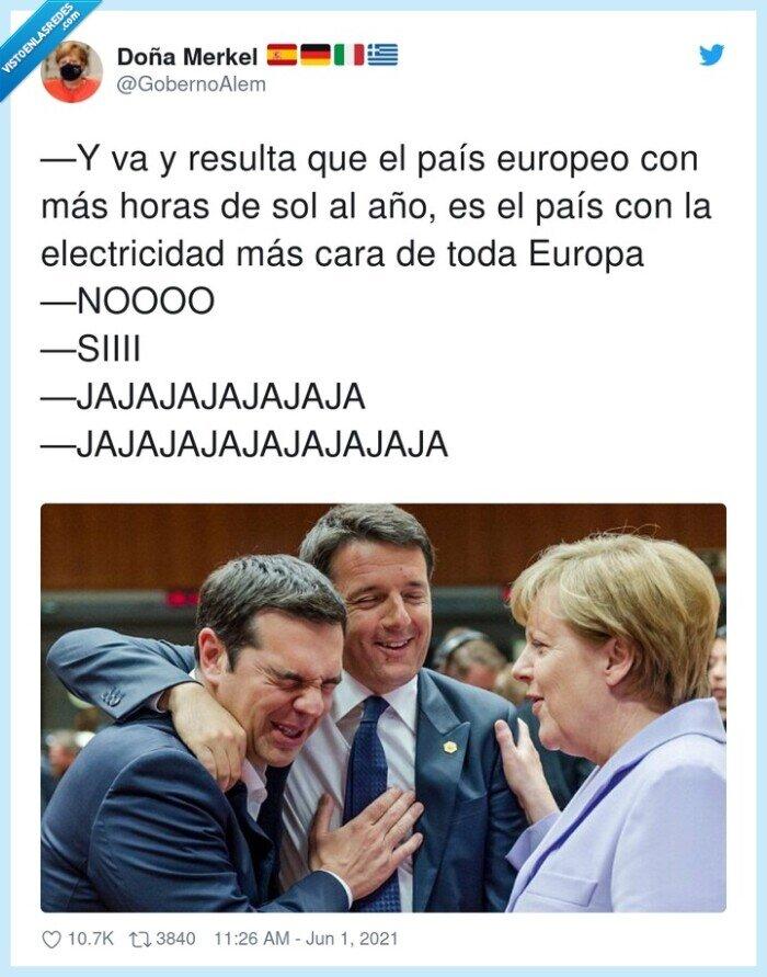 electricidad,españa,europa,lu,merkel