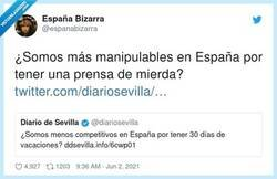 Enlace a ¿De qué va la prensa de este país?, por @espanabizarra