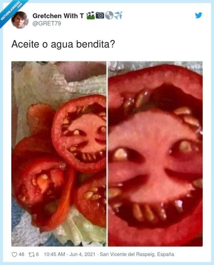 cara,demonio,diablo,tomate