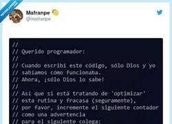 Enlace a ¿Nadie va a pensar en los programadores?, por @mafranpe