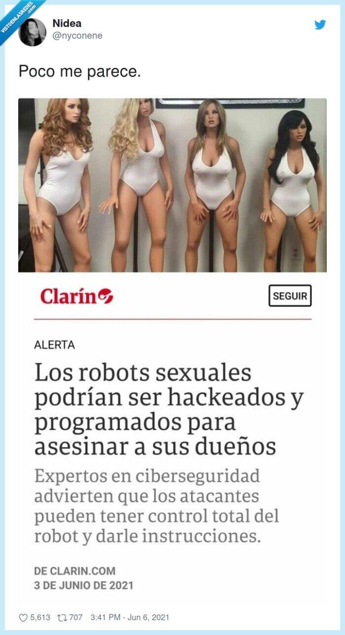 asesinar,programados,robot