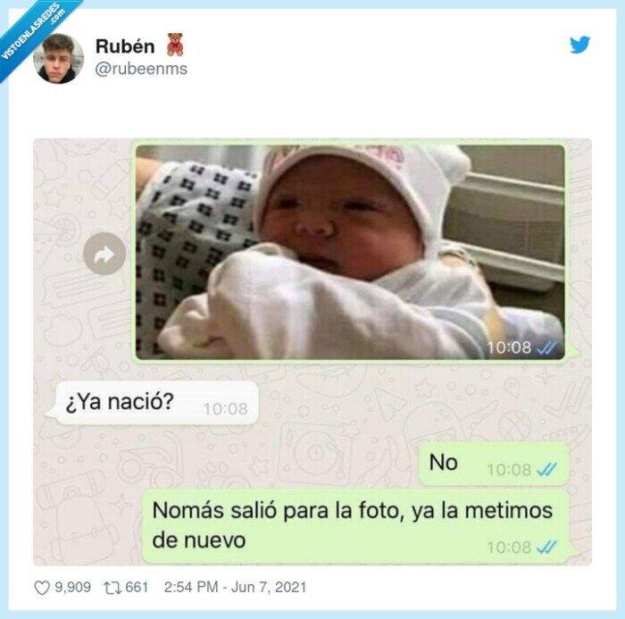 bebé,nacer,pregunta