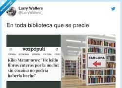 Enlace a Fomentando la lectura, por @LarryWalters_