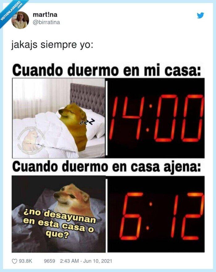 casa,dormir,fuera